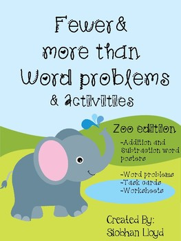 Fewer and More Than Zoo Edition