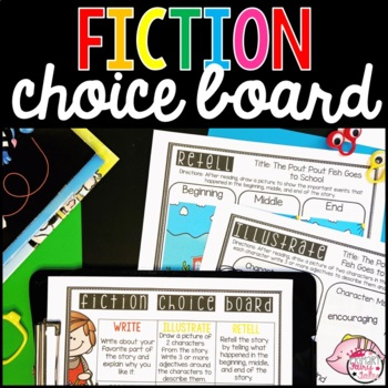 Fiction Choice Board
