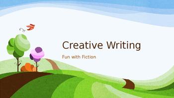 Fiction Creative Writing Lesson Plan