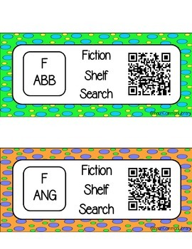 Fiction (F) Shelf Search for your Library Media Center
