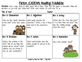Fiction Foldable
