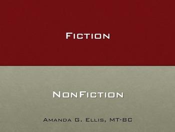 Fiction, Non-Fiction