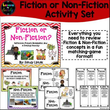 Fiction & Non-Fiction Activity Set
