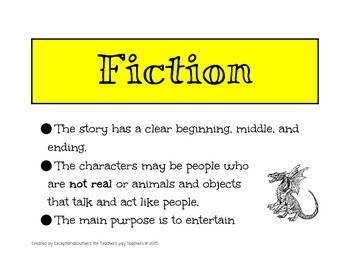 Fiction Non Fiction Poster
