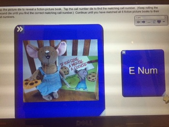Fiction & Nonfiction Call Number Games for Smart Boards