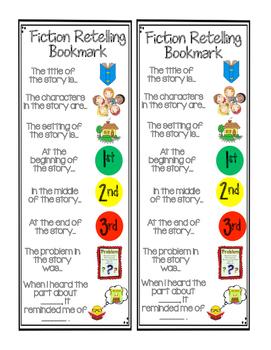 Fiction Retelling Bookmark