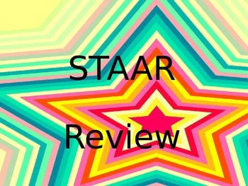Fiction STAAR Review