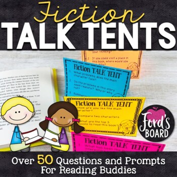 Over 50 Reading Response Questions and Prompts- Fiction Ta