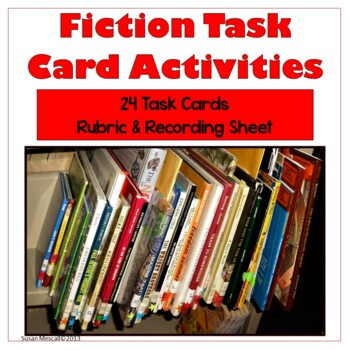Fiction Reading Task Cards