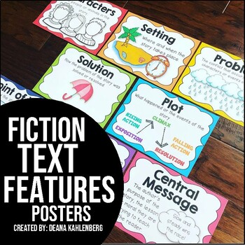 Fiction Text Structure Posters