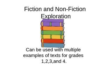 Fiction and Non-fiction Exploration