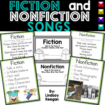 Fiction and Nonfiction Songs and More!