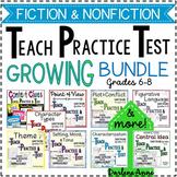 Fiction and Nonfiction: Teach, Practice, Test GROWING Bundle