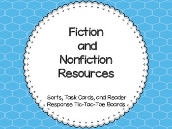 Fiction and Nonfiction Unit Resources