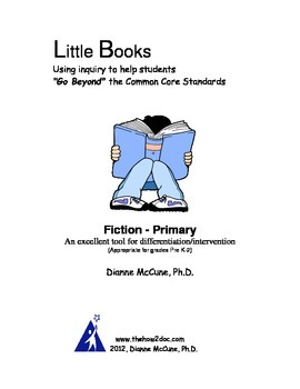 Fiction for Primary - Literacy Response Journal