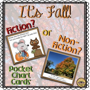 Fiction or Non-Fiction? {Fall Theme} Library and Classroom