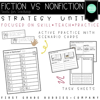 Fiction or Nonfiction? {activities for primary readers}