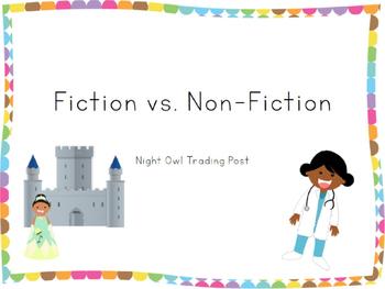 Fiction vs. Non-Fiction Presentation