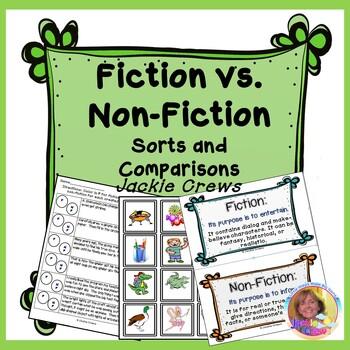 Fiction vs. Non-Fiction Sorts and Comparisons: Differentia