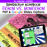 Fiction vs. Nonfiction Interactive Notebook