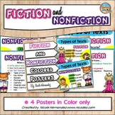 Fiction vs Nonfiction Posters
