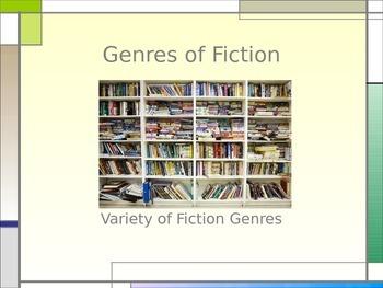 Fictional Genres