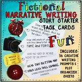 Fictional Narrative Writing Story Starter Task Cards