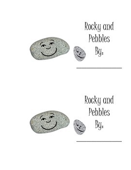 Fictional Story for visualizing-theme of rocks