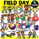 Field Day Clip Art Bundle