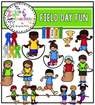 Field Day Fun Clipart Set