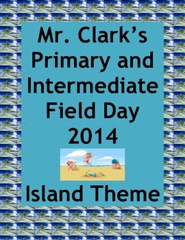 Field Day Island Adventure Physical Education Primary and