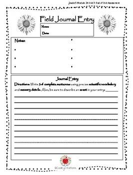 Field Journal BUNDLE