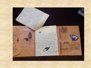Field Journal out of an Envelope