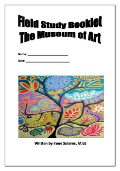 Field Study Booklet for Museum of Art
