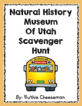 Field Trip Natural History Museum Scavenger Hunt