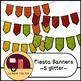 Fiesta Banners / Pennants Glitter and Solid {CU - ok!} Cin