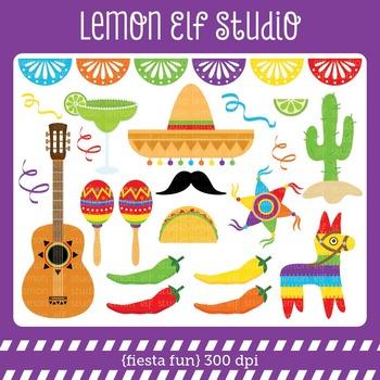 Fiesta Fun-Digital Clipart (LES.CL30A)