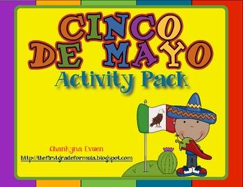 Fiesta Time!  Cinco de Mayo Math and Literacy Activities!