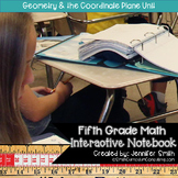 Fifth Grade- Geometry and the Coordinate Plane Interactive