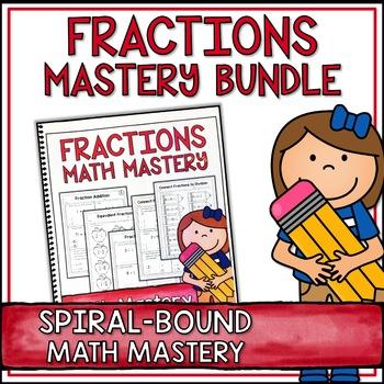 Fifth Grade Common Core Math Fractions Bundle - Spiral Bou