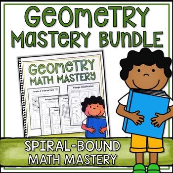 Fifth Grade Common Core Math Geometry Bundle - Spiral Boun