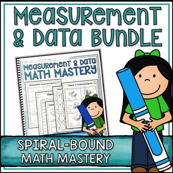 Fifth Grade Common Core Math Measurement Bundle - Spiral B