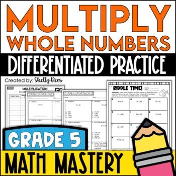Multiplication Worksheets (Whole Numbers x 2 Digit Numbers)
