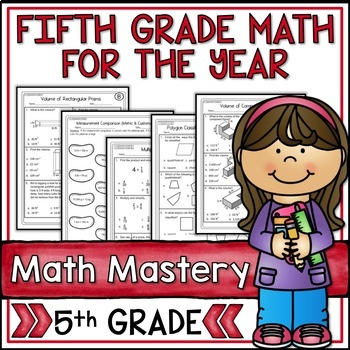 Fifth Grade Common Core Math Super Bundle for the Year - 3