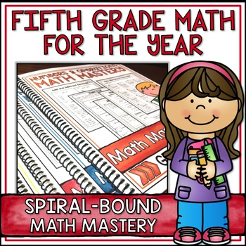 Fifth Grade Common Core Math for the Year Super Bundle - S