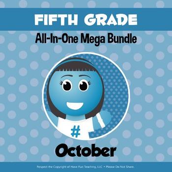 Fifth Grade Curriculum Bundle (OCTOBER)