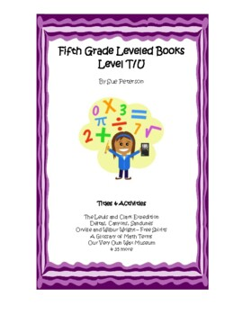 Fifth Grade Leveled Books:  Level T - Set 1