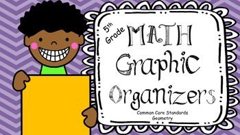 Fifth Grade Math Graphic Organizers: G {copy for student notes}