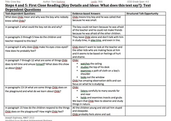 Grade 5 Paired Fictional Text Close Reading Unit