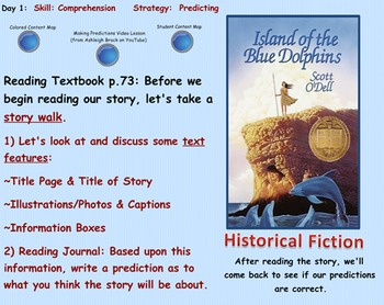 Fifth Grade Reading Street Island of the Blue Dolphins SMA
